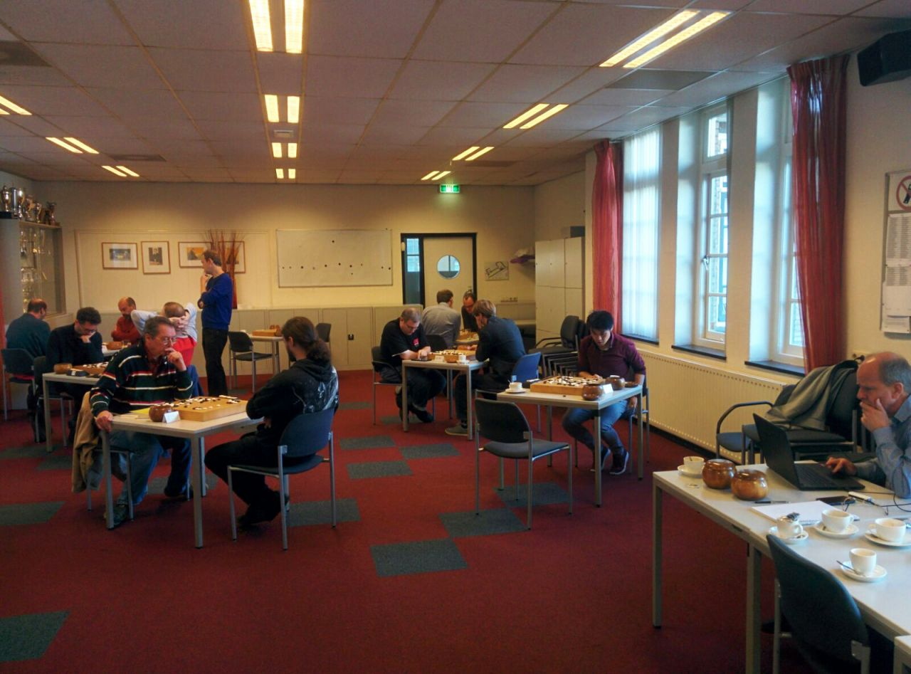 Overview of the Inter Disctricts Tournament at the European Go Cultural Centre in Amstelveen
